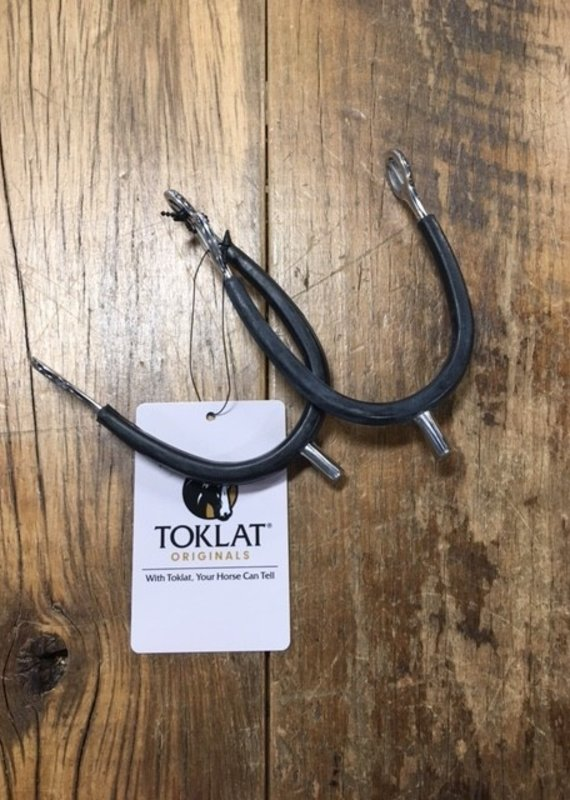 Toklat Toklat Ladies' Rubber Covered P.O.W. Canted Tom Thumb Spurs