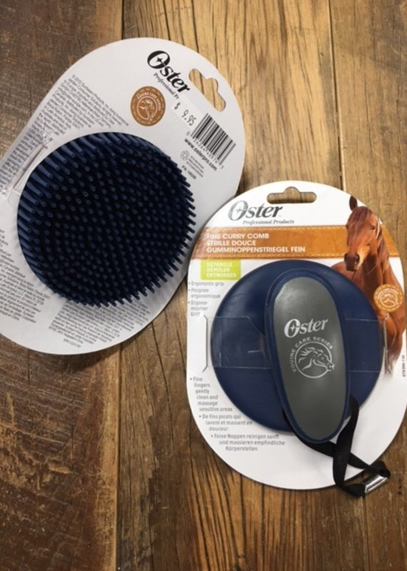 Oster Oster Fine Curry Comb Blue