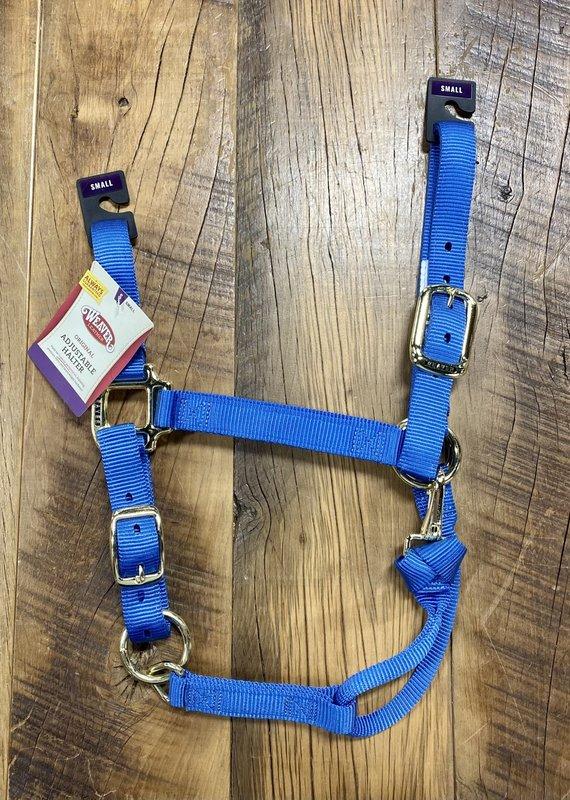 Weaver Leather Weaver Nylon Halter French Blue