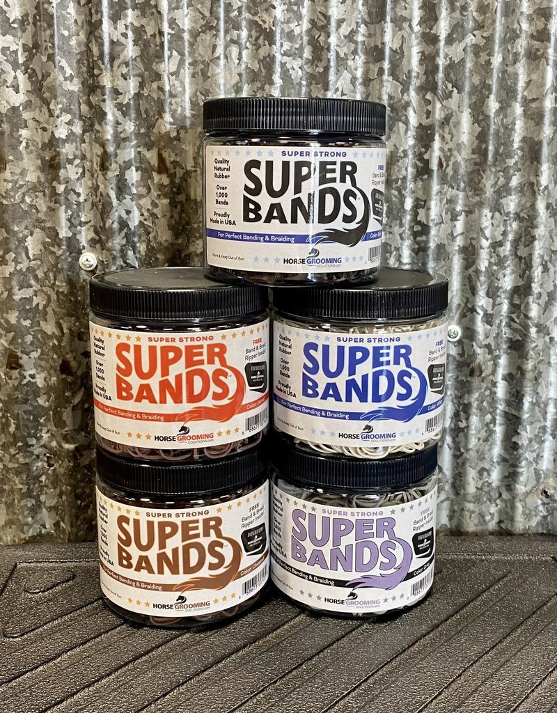 Horse Grooming Solutions Super Bands