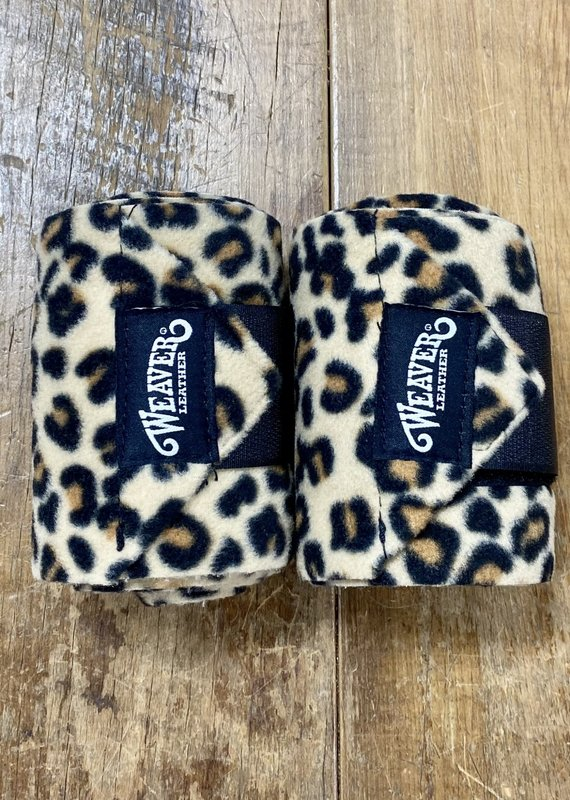 Weaver Leather Weaver 4 Pack Polo Wraps Leopard