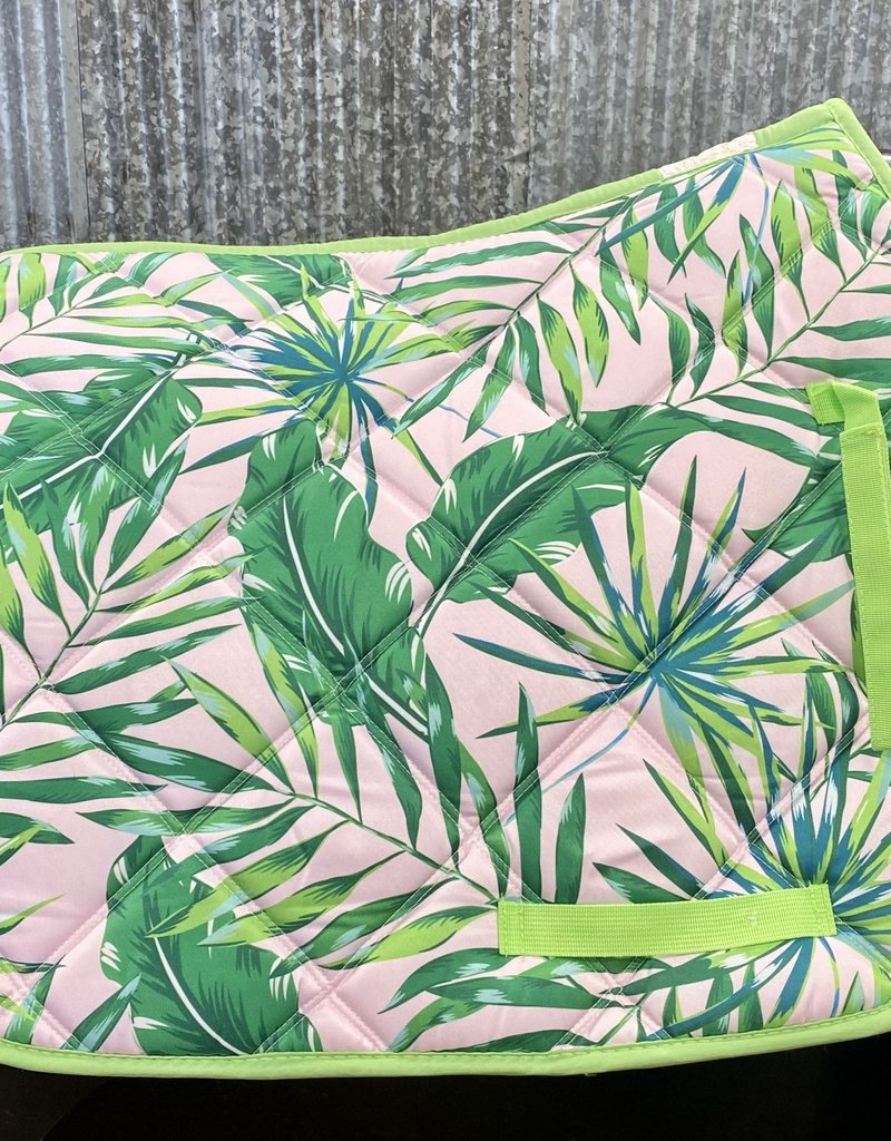 Lettia Lettia All Purpose Saddle Pad Palm Leaf