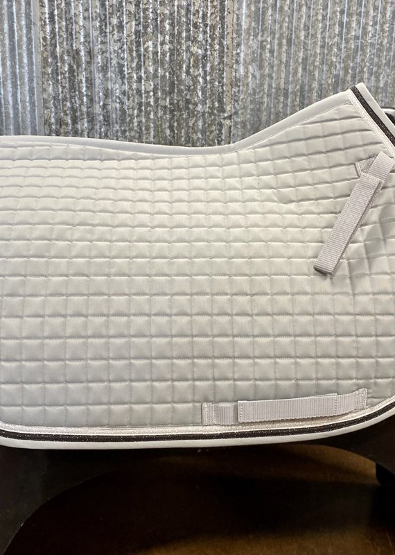 Equine Couture Equine Couture Matte All Purpose Saddle Pad Grey/Silver