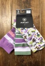 Ariat Ariat Women's Cross Country Socks 3 pk