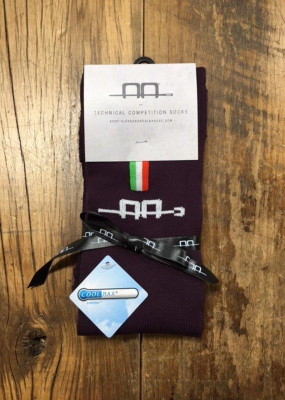 Alessando Albanese AA Unisex Technical Competition Socks Primatova 42/48