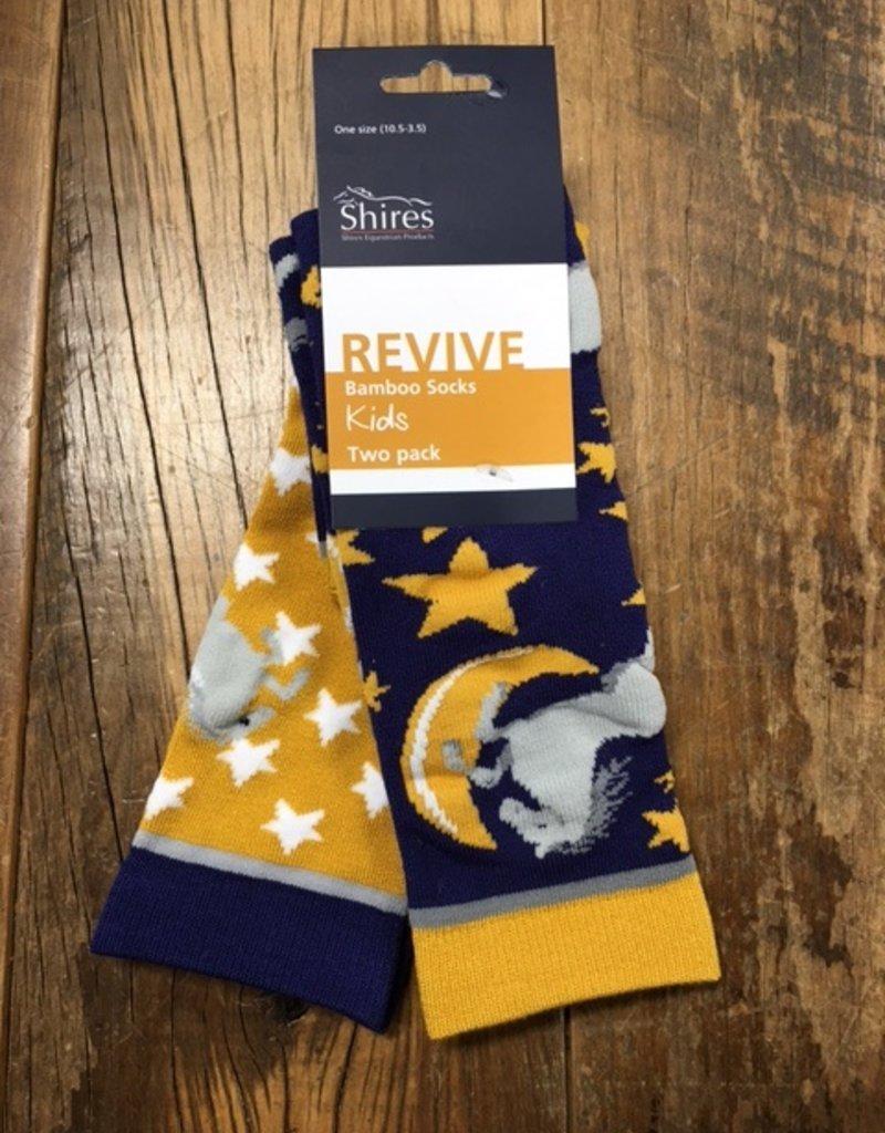 Shires Shires Child's Bamboo Horse Socks 2 Pk