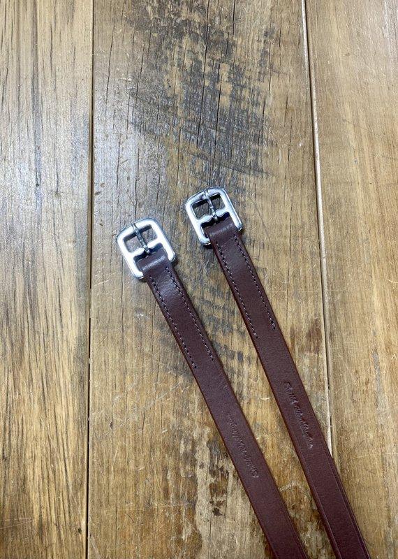 """Smith-Worthington Saddlery Co. Smith-Worthington 3/4"""" x 54"""" Havana Stirrup Leathers"""