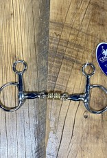 """Centaur Centaur Blue Steel Boucher with Brass Rollers Bit 5"""""""