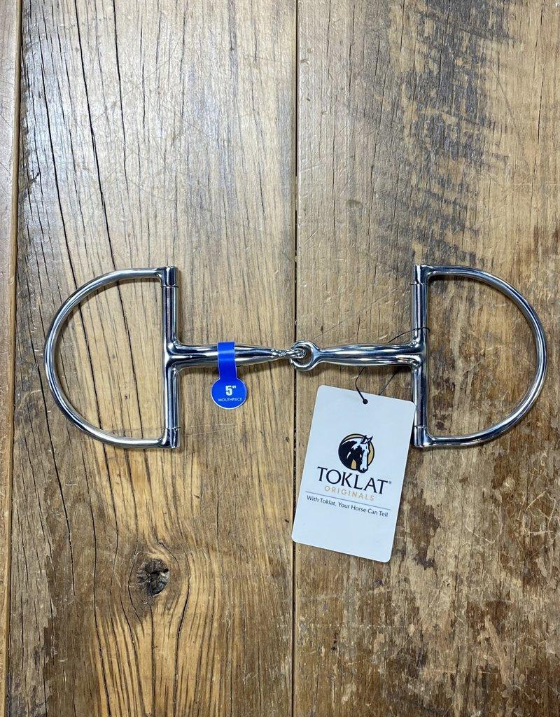 Toklat Toklat Stainless Steel Hunter Dee Ring Snaffle Bit