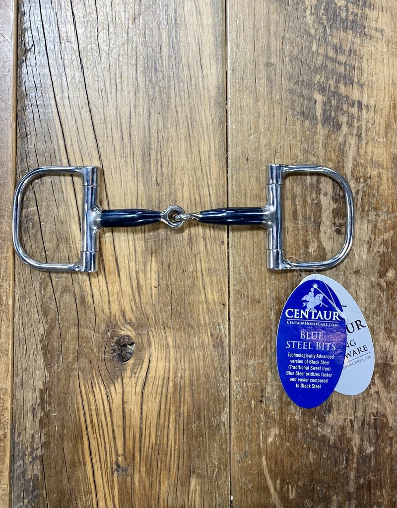 "Centaur Centaur Blue Steel Jointed Barrel Dee Ring Bit 4.5"""
