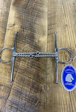"""Coronet Coronet Double Twisted Wire Full Cheek Snaffle Bit 5"""""""