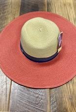 Wallaroo Hat Company St. Tropez Orange Combo Hat