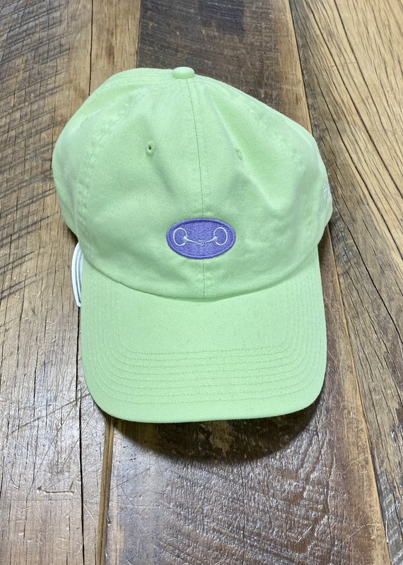 Stirrups Snaffle Bit in Purple Oval Cap