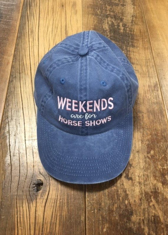 Stirrups Weekends are for Horse Shows Cap