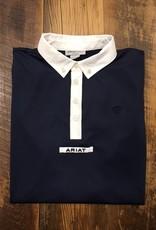 Ariat Ariat Men's Tek Short Sleeve Show Shirt Navy