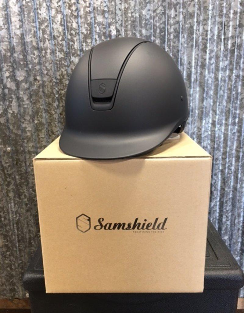 Samshield Samshield Limited Edition Matt Collection Shadowmatt Helmet Black