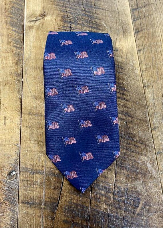 Bird Dog Bay Bird Dog Bay Old Glory Tie Navy