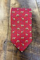 Bird Dog Bay Bird Dog Bay Horsin' Around Tie Red