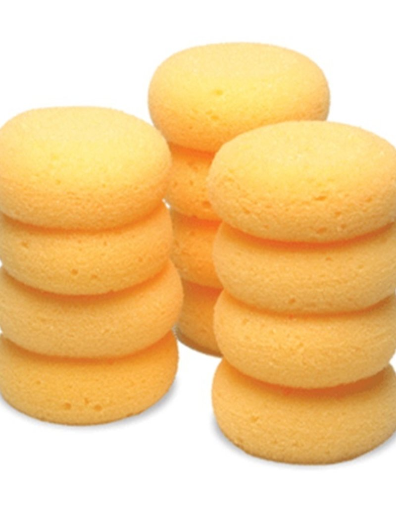 Jacks Jack's Small Tack Sponges Round 12 pk