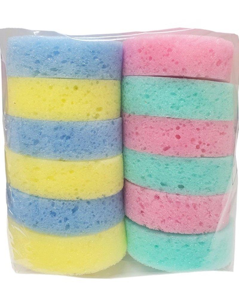 Jacks Jack's Rainbow Tack Sponges Small 12 pk