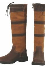 Tuffrider Girl's Tuffrider Lexington Waterproof Tall Boots Chocolate/Fawn
