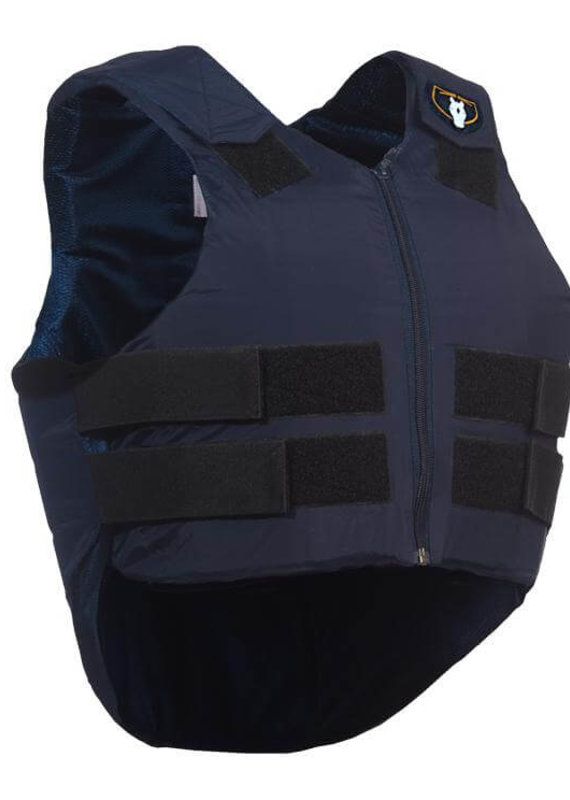 Tipperary Tipperary Ride-Lite Youth Protective Horse Riding Vest Navy Blue (Large)