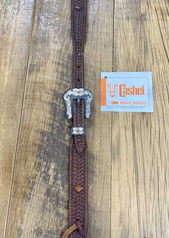 Cashel Cashel Antique Diamond Tooled Split Ear Headstall