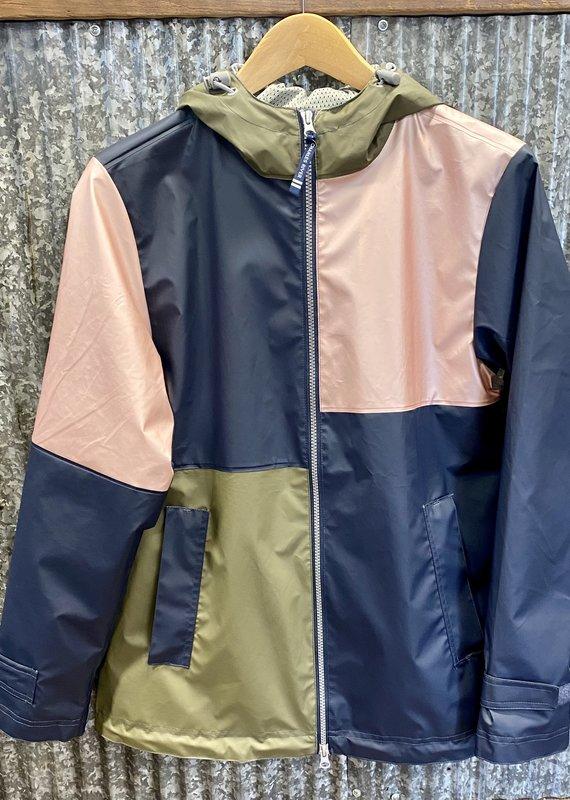 Charles River Charles River Women's Color Block New Englander Rain Jacket