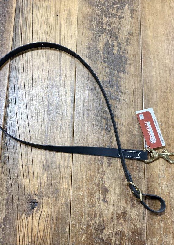 "Martin  Saddlery Martin Saddlery Biothane 3/4"" Tie Down Strap Black"