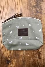 Spiced Equestrian Spiced Equestrian Pony Print Makeup Bag