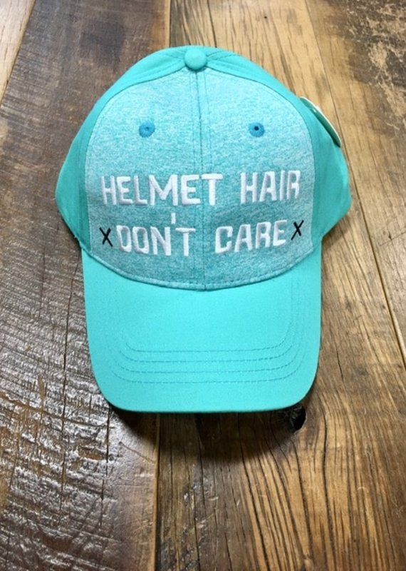 Spiced Equestrian Spiced Equestrian Helmet Hair Don't Care Ringside Hat Mint
