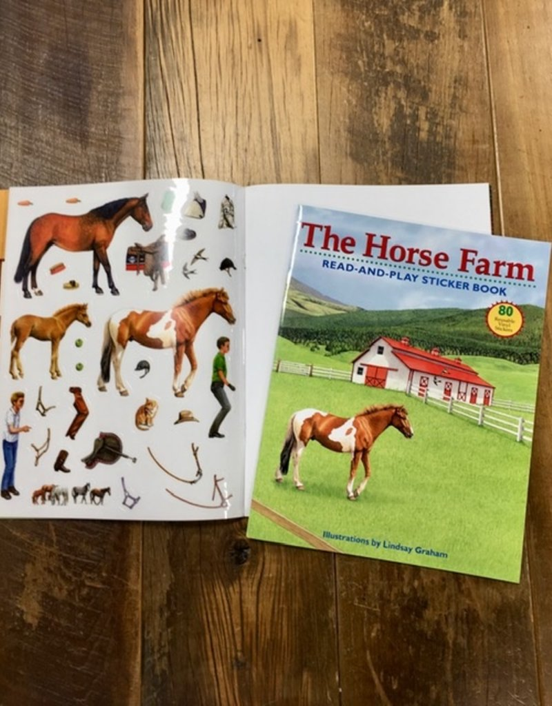 The Horse Farm Read And Play Sticker Book