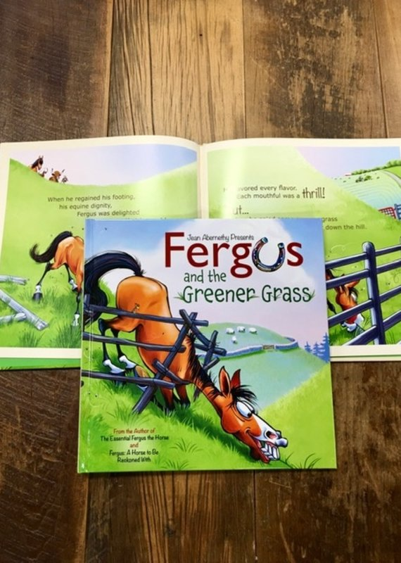 Fergus And The Greener Grass Book