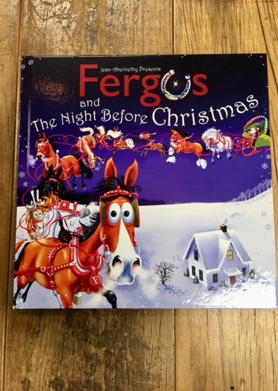 Fergus and The Night Before Christmas Book