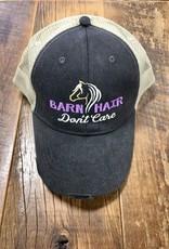 Barn Hair Don't Care Mesh Cap Black/Purple