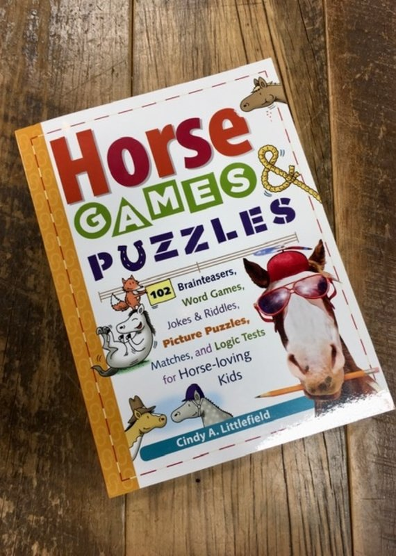 Horse Games & Puzzles For Kids Book