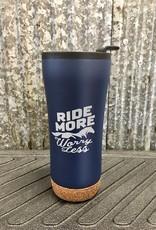 'Ride More Worry Less Tumbler' 16 oz