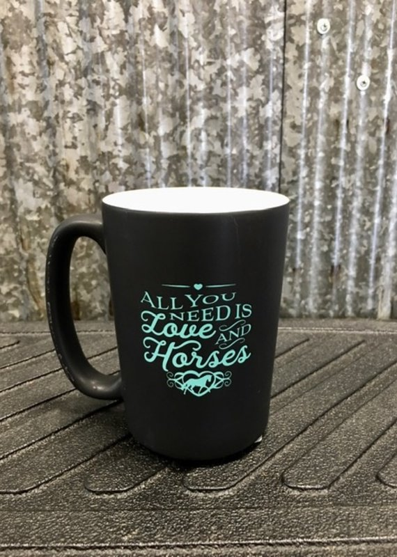 'All You Need Is Love And Horses' Mug