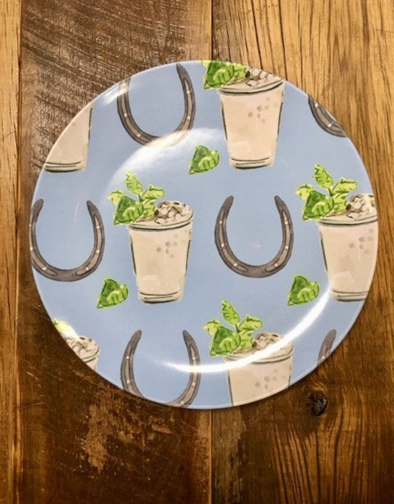 Faire ThermoSaf Juleps And Horseshoes Plate