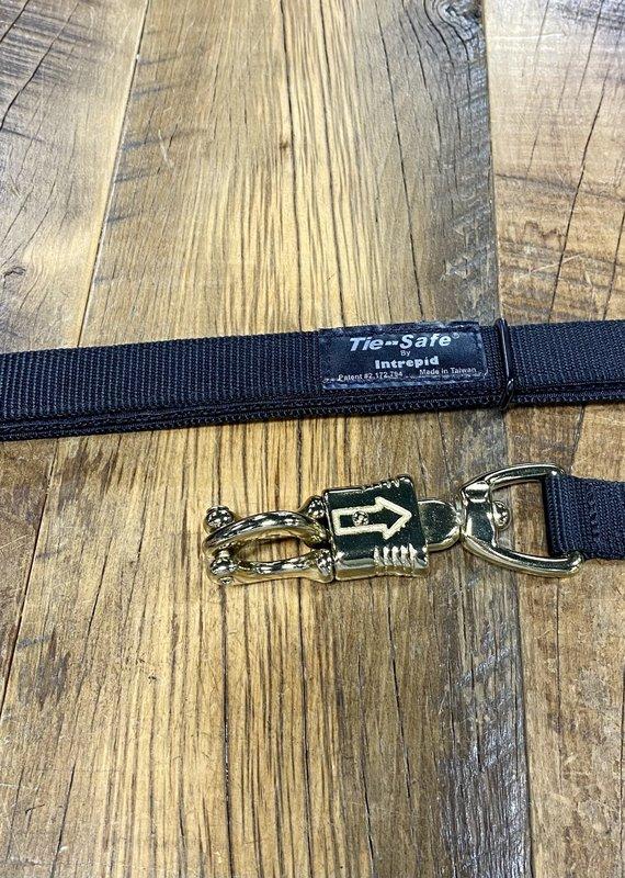 Tie Safe Cross Tie with Quick Release Black