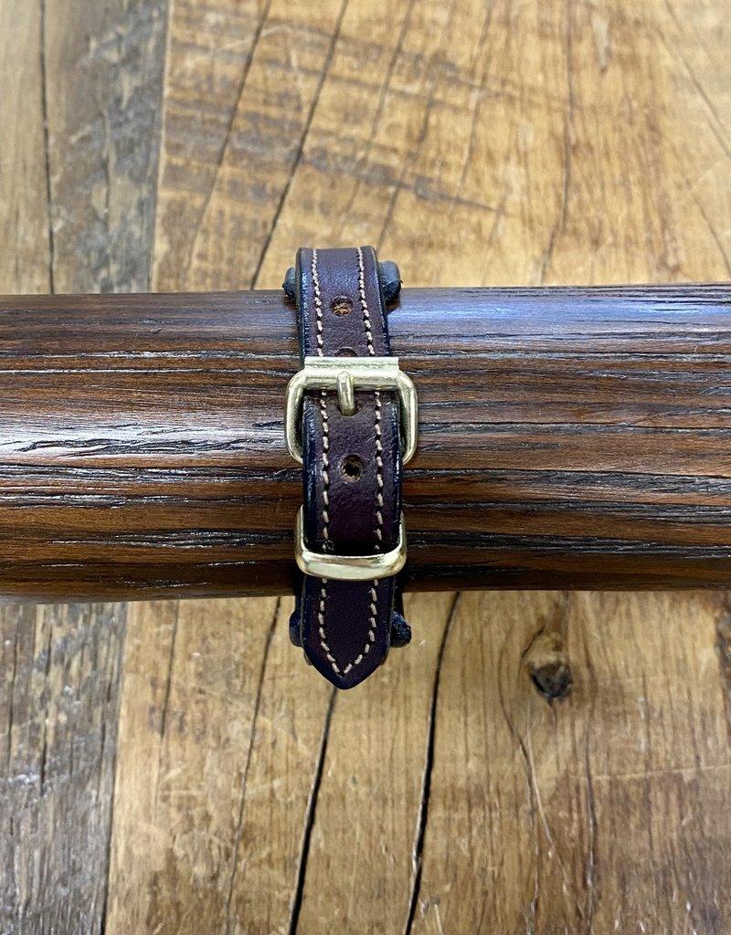 Tory Leather Tory Leather Padded Bracelet Havana/Navy