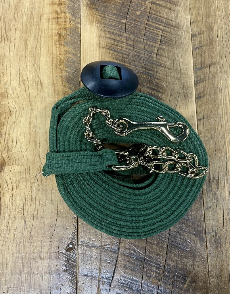 Jacks Jacks Lunge Cotton Webbing Line with Chain Forest