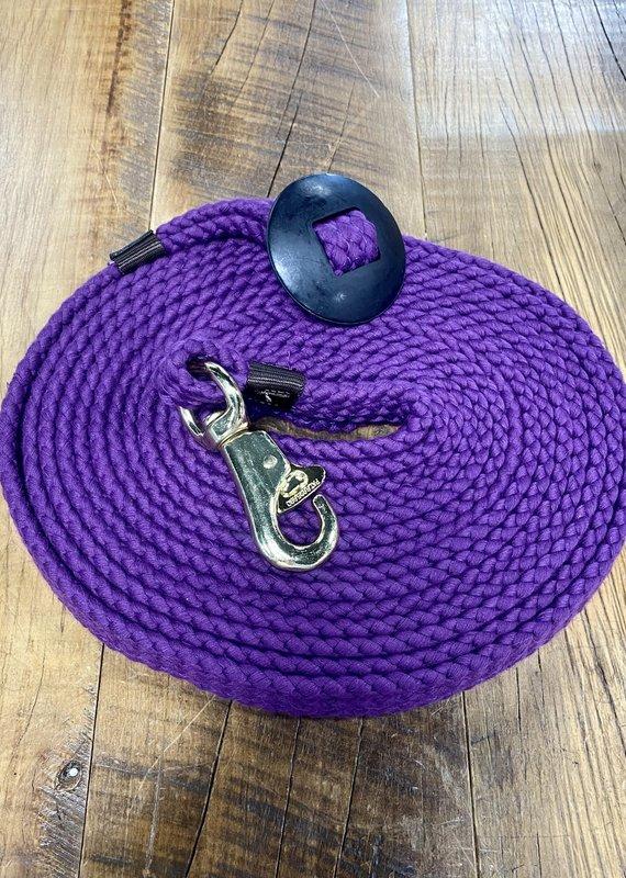 Tough1 Tough1 Flat Cotton Lunge Line Purple