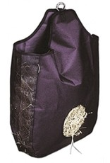 Jacks Hay Bag With Mesh Gusset Black