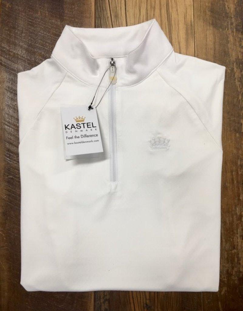 Kastel Kastel Cap Sleeve Sun Shirt White