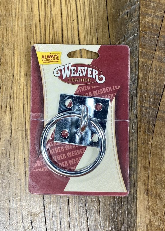 Weaver Leather Weaver Tie Ring Plate Zinc Plated