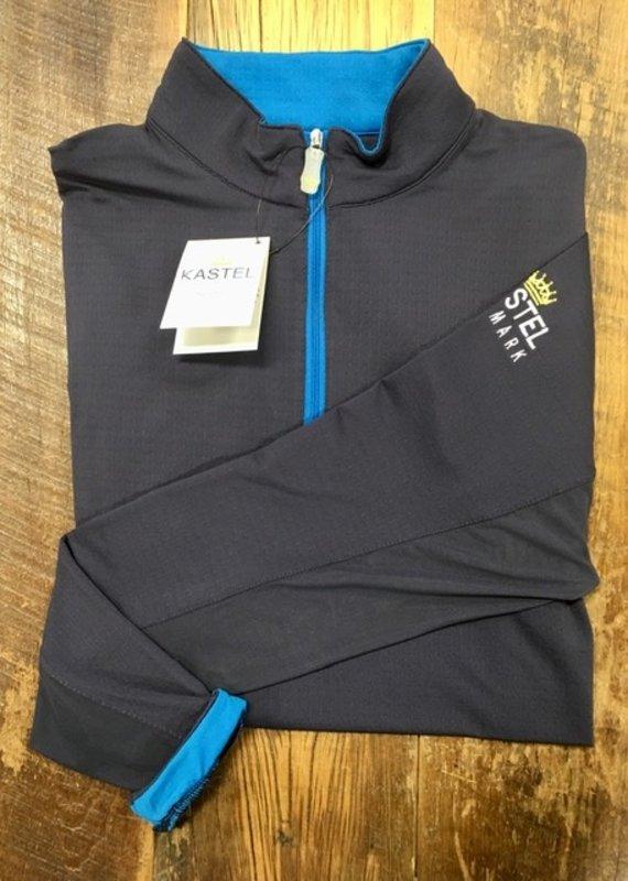 Kastel Kastel Charlotte Collection Navy Blue with Sky Blue Trim Sun Shirt