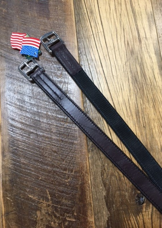 """Tory Leather Tory 54"""" NonStretch Stirrup Leathers Havana"""