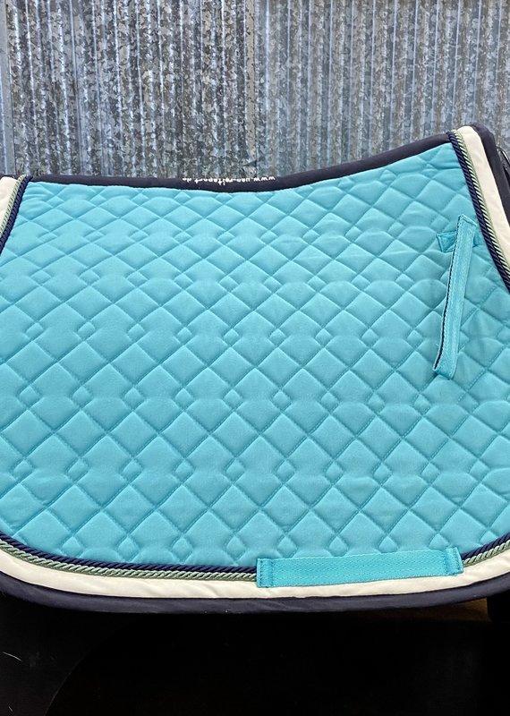 USG USG Qulited Saddle Cloth Lake Blue/Ecru/Navy