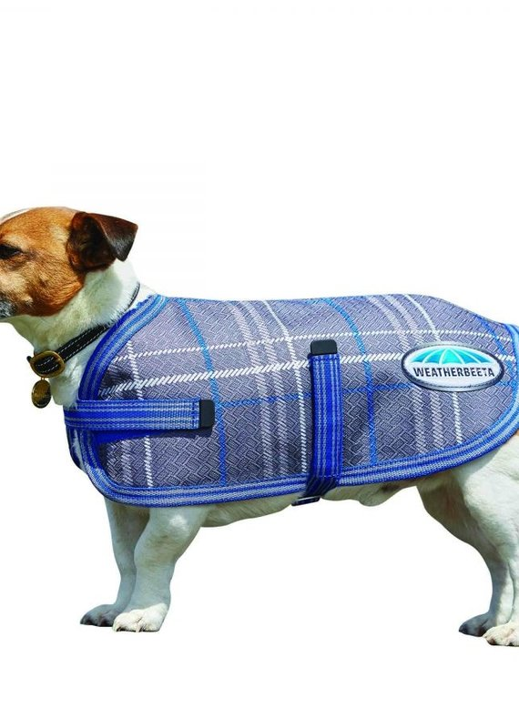 Weatherbeeta Weatherbeeta Comfitec Parka 1200D Dog Coat Grey Plaid